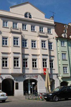 Kontakt: Blick von der Maximilianstraße auf Köhler Kline Consulting & Coaching GbR